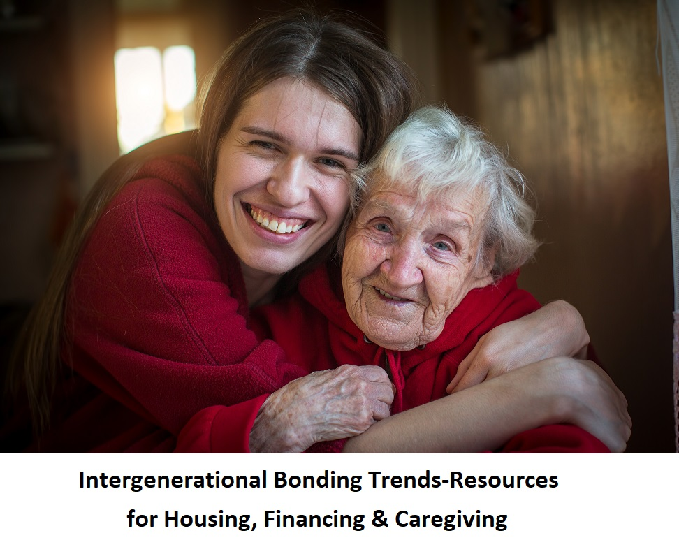 Intergenerational Bonding Trends-Resources for Housing, Financing & Caregiving